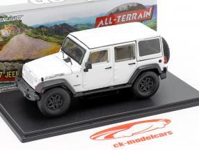 Jeep Wrangler Unlimited Moab Anno di costruzione 2013 bianca 1:43 Greenlight