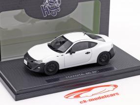Toyota 86 RC cetim pérola Branco 1:43 Ebbro