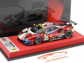 Ferrari 488 GTE #71 24h LeMans 2019 Rigon, Bird, Molina 1:43 BBR