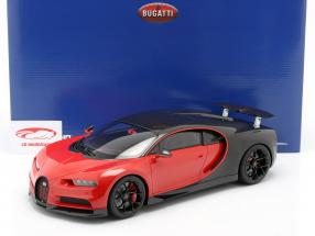 Bugatti Chiron Sport #16 year 2019 red / black 1:12 Kyosho