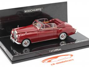 Rolls Royce Silver Cloud II Cabriolet År 1960 rød 1:43 Minichamps