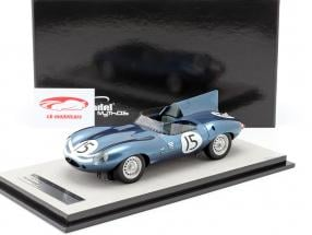 Jaguar D-Type #15 2nd 24h LeMans 1957 Lawrence, Sanderson 1:18 Tecnomodel