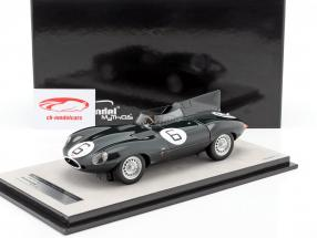 Jaguar D-Type #6 vincitore 24h LeMans 1955 Hawthorn, Bueb 1:18 Tecnomodel