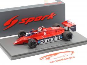 Nelson Piquet Brabham BT48 #6 Monaco GP formule 1 1979 1:43 Spark