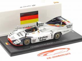 Porsche 936/80 #1 3e 9h Kyalami 1982 Wollek, Francia 1:43 Spark