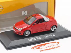 Opel Tigra Twintop rød 1:43 Minichamps