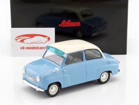 Goggomobil Limousine azul / branco 1:18 Schuco