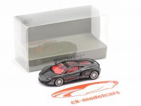 McLaren 570 GT Byggeår 2016 stormgrå 1:87 Minichamps
