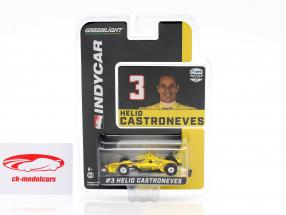 Helio Castroneves Chevrolet #3 Indycar Series 2020 Team Penske 1:64 Greenlight