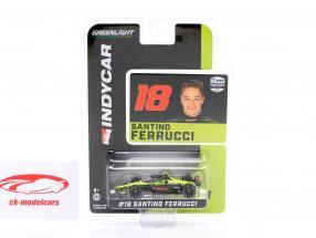 Santino Ferrucci Honda #18 Indycar Series 2020 Dale Coyne Racing 1:64 Greenlight
