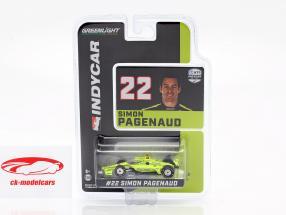Simon Pagenaud Chevrolet #22 IndyCar Series 2020 Team Penske 1:64 Greenlight