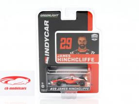 James Hinchcliffe Honda #29 Indycar Series 2020 Andretti Autosport 1:64 Greenlight