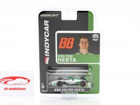 Colton Herta Honda #88 Indycar Series 2020 Andretti Harding Steinbrenner Autosport 1:64 Greenlight