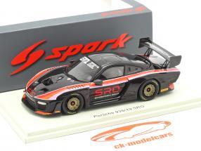 Porsche 935/19 SRO sort / rød / orange / lyserød 1:43 Spark