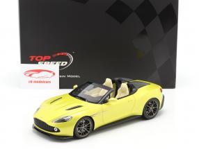 Aston Martin Vanquish Zagato Speedster 2017 cosmopolitan gul 1:18 TrueScale