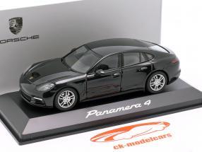 Porsche Panamera 4 (2. Gen.) Byggeår 2017 sort metallisk 1:43 Herpa