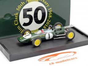 Jim Clark Lotus 25 #1 Campeão mundial Bélgica GP Fórmula 1 1963 1:43 Brumm