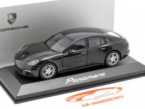 Porsche Panamera (2. Gen.) Año 2017 negro metálico 1:43 Herpa