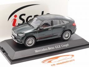 Mercedes-Benz GLE Coupe (C167) 2020 Smeraldo verde metallico 1:43 iScale