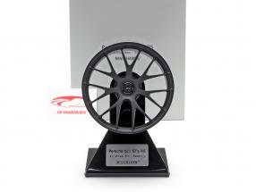 Porsche 911 GT3 RS 2020 Magnesium rim 21 inch satin black 1:5 Minichamps
