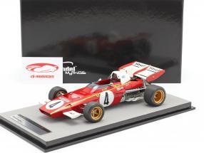 Jacky Ickx Ferrari 312B2 #4 3rd Monaco GP formula 1 1971 1:18 Tecnomodel