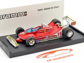 J. Scheckter Ferrari 312 T4 #11 Campeón del Mundo GP Italia Fórmula 1 1979 1:43 Brumm