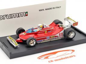 J. Scheckter Ferrari 312 T4 #11 Wereldkampioen GP Italië Formula 1 1979 1:43 Brumm