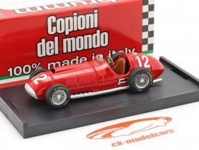 F. Gonzalez Ferrari 375 #12 Brits GP formule 1 1951 1:43 Brumm