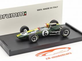 Mike Spence Lotus 33 #6 Itália GP F1 1965 com figura 1:43 Brumm