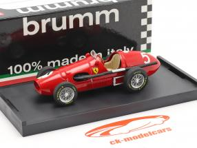 Alberto Ascari Ferrari 500F2 formula 1 1953 1:43 Brumm