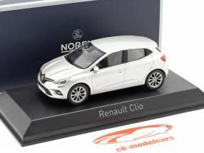Renault Clio year 2019 platinum silver 1:43 Norev