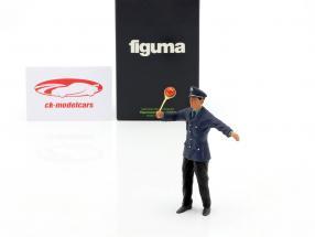 Policeman Figure 1:18 FigurenManufaktur