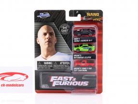 3-Car Set NV-1 Fast & Furious 1:87 Jada Toys