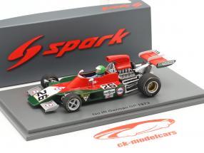 Henri Pescarolo Iso-Marlboro IR1 #26 alemán GP fórmula 1 1973 1:43 Spark
