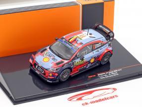 Hyundai i20 Coupe WRC #11 4e Rallye Duitsland 2019 Neuville, Gilsoul 1:43 Ixo