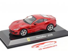 Ferrari Portofino Baujahr 2018 rot 1:43 Altaya