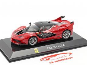 Ferrari FXX K #88 Año de construcción 2014 rojo / negro 1:43 Altaya