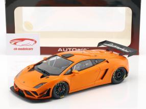 Lamborghini Gallardo GT3 FL2 Ano de construção 2013 laranja metálico 1:18 AUTOart