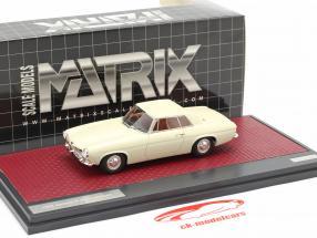 Jensen P-66 Prototype Año de construcción 1964 Blanco 1:43 Matrix