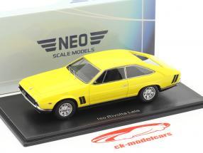 Iso Rivolta Lele Baujahr 1972 gelb 1:43 Neo