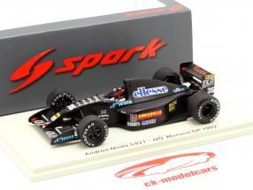 Perry McCarthy Andrea Moda S921 #35 Monaco GP formula 1 1992 1:43 Spark