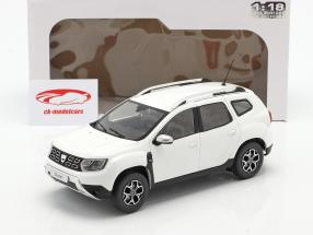 Dacia Duster MK2 Byggeår 2018 Arctic hvid 1:18 Solido