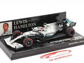 L. Hamilton Mercedes-AMG F1 W10 #44 Duitse GP Wereldkampioen F1 2019 1:43 Minichamps