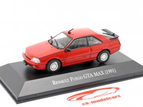 Renault Fuego GTA MAX Byggeår 1991 rød 1:43 Altaya