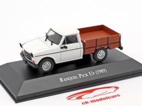 Renault Ranquel Pick-Up Ano de construção 1989 Branco / Castanho 1:43 Altaya