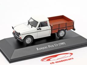 Renault Ranquel Pick-Up Construction year 1989 White / brown 1:43 Altaya