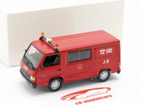 Mercedes-Benz MB180 brandweer Zaragoza rood 1:43 Altaya