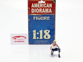 Car Girl Michelle figura 1:18 American Diorama