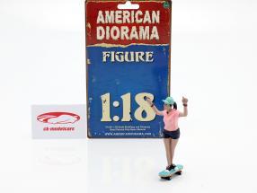 Skateboarder figura #4 1:18 American Diorama