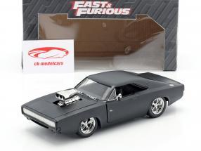 Dodge Charger R/T Rápido y Furibundo 7 estera negro 2015 1:24 Jada Toys
